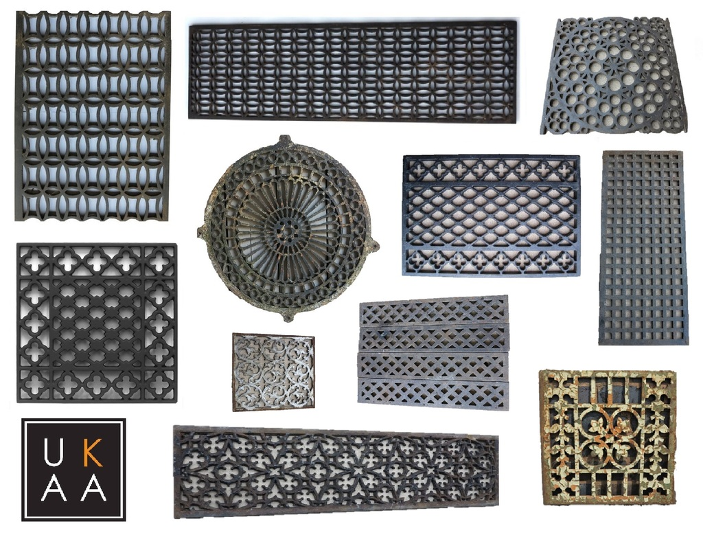 Cast Iron Floor Grilles | Floor Grilles | Heating Covers