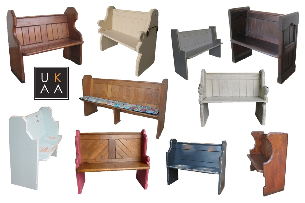 Church Pews Available to Buy at UKAA