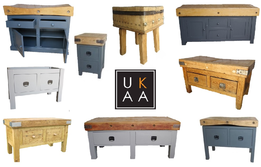 Butchers Block Island Available to View at UKAA