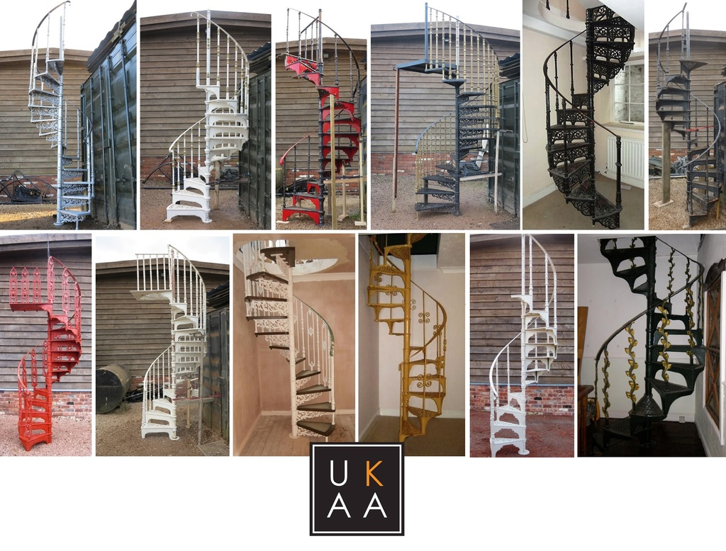 Spiral Staircases available at UKAA