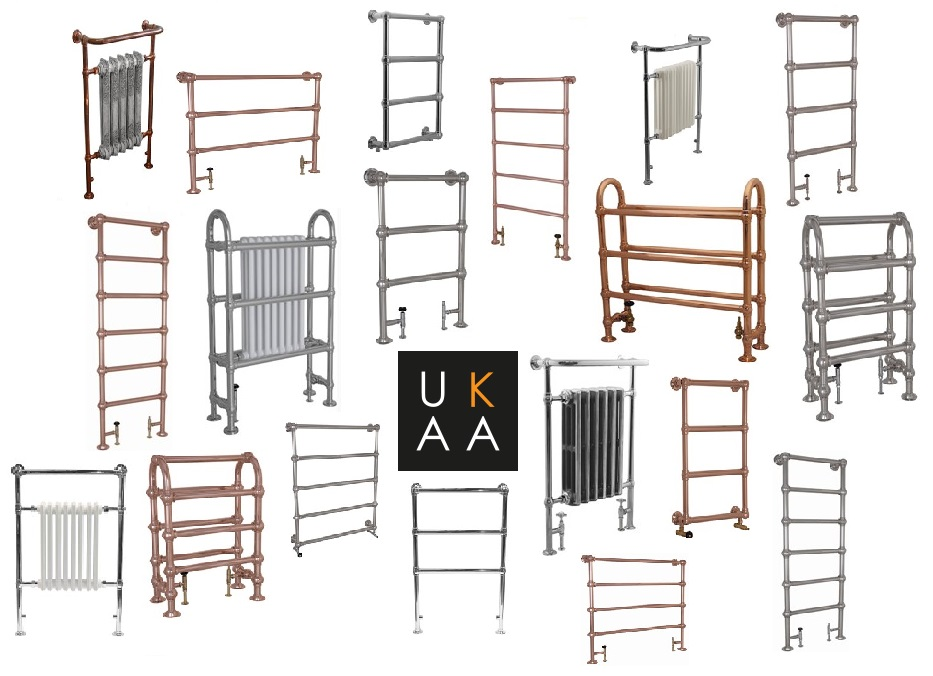 Dual Fuel Towel Rail in Stock at UKAA