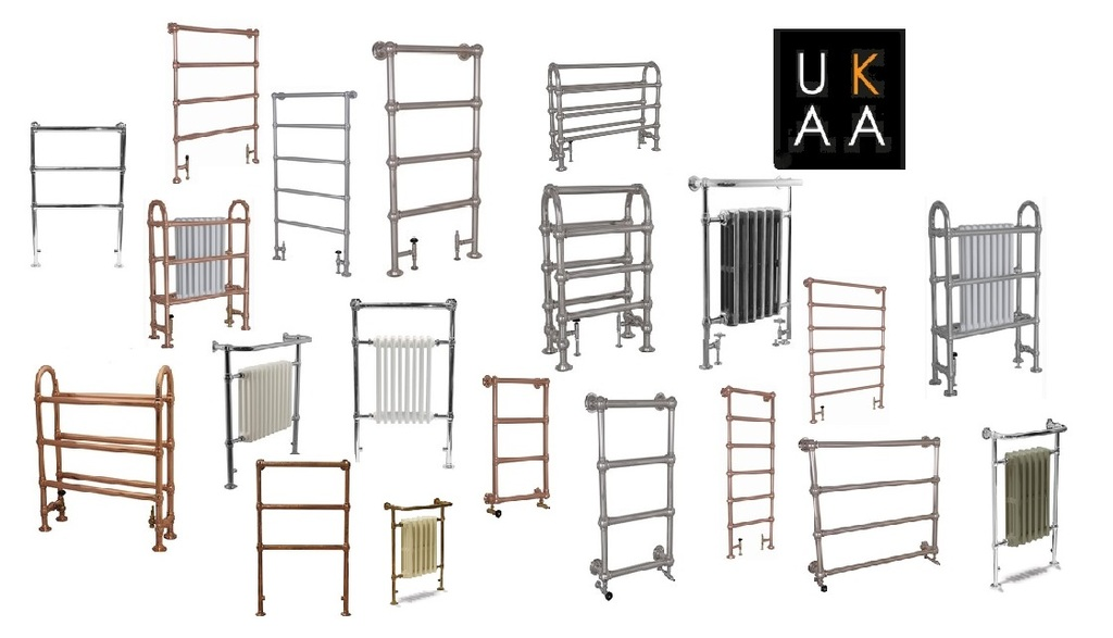 Traditional Towel Radiator in Stock at UKAA