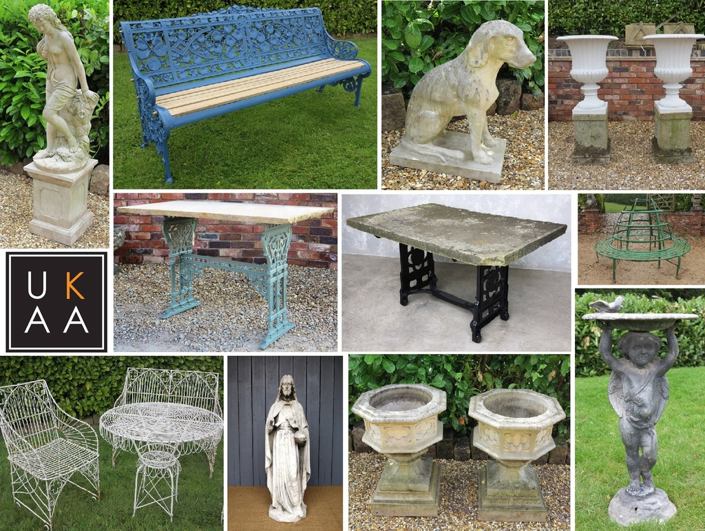 Garden Antiques Available at UKAA