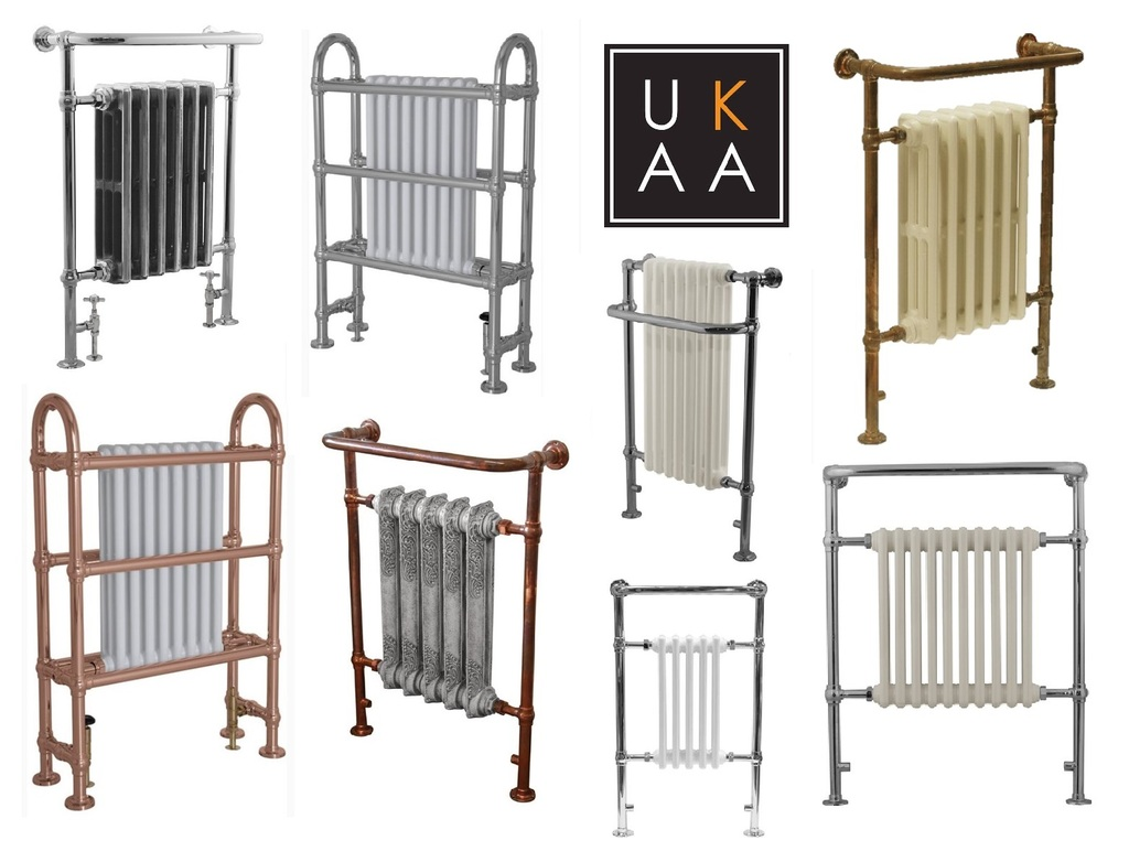 Traditional Towel Radiator Available at UKAA