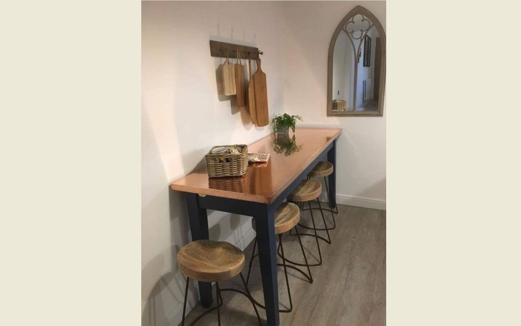 At UKAA we bespoke make metal top kitchen worktops and dining tables made from natural metals such as zinc,copper and brass in sizes and designs of your choice=