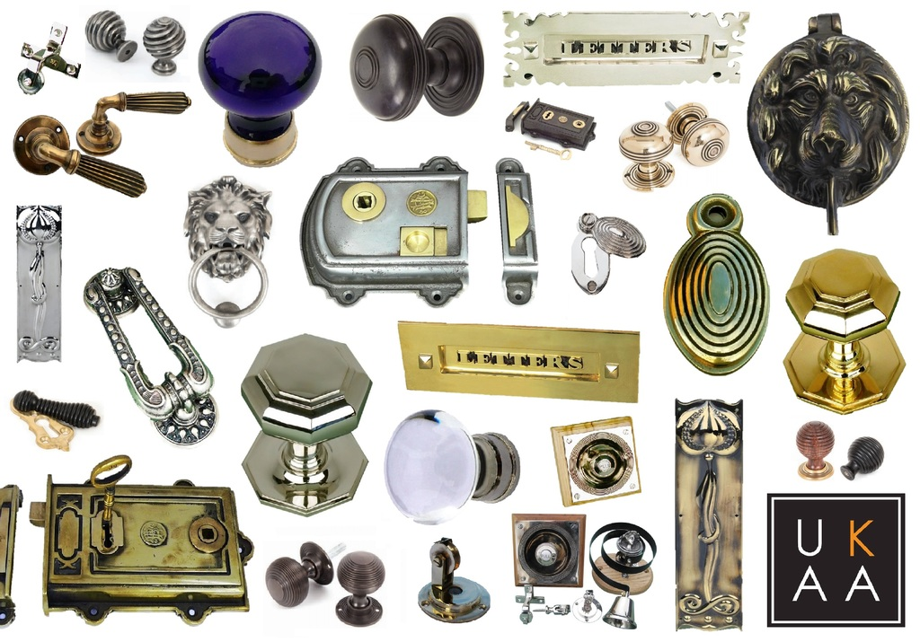 Antique Door Furniture available at UKAA