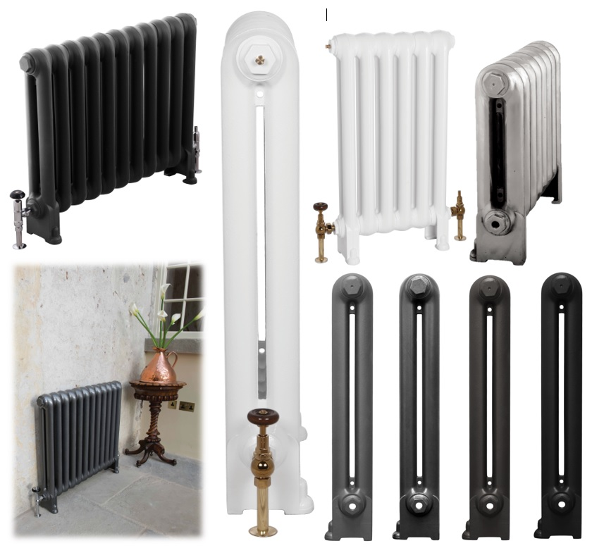 Vintage Cast Iron Radiators at UK Architectural Antiques