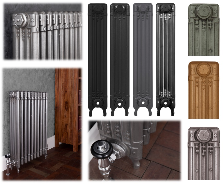 Edwardian Cast Iron Radiators Available at UKAA