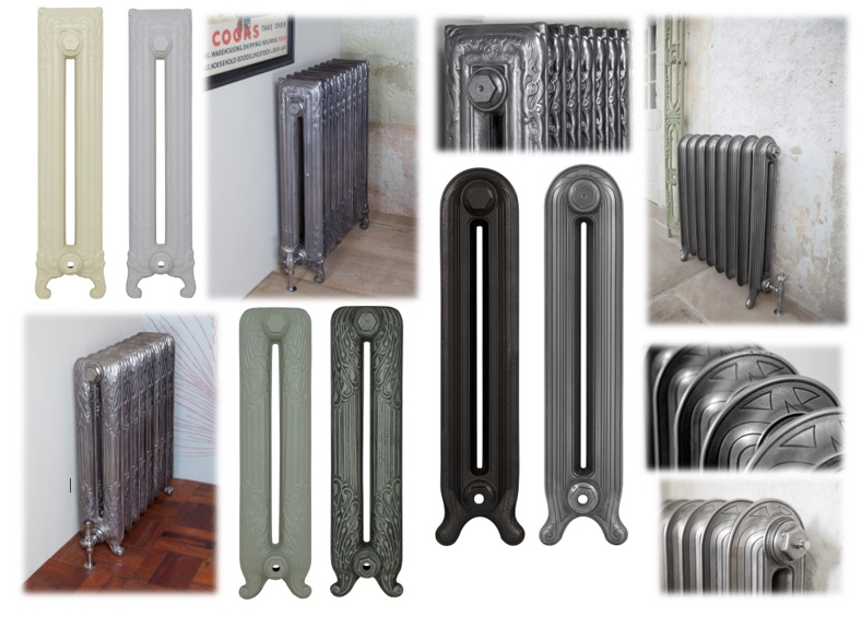 Traditional Cast Iron Radiators Available at UK Architectural Antiques