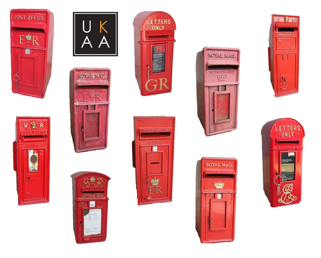 Antique Letter Boxes in stock at UKAA