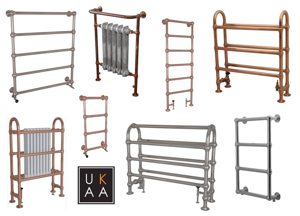 Old Fashioned Towel Rails available to buy at UKAA
