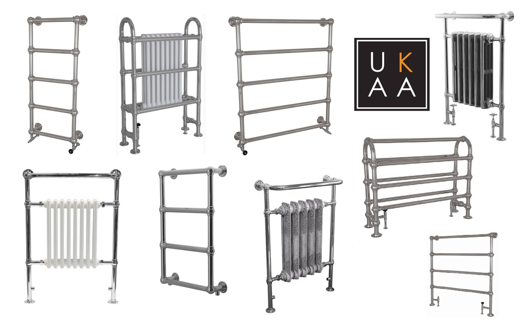 Chrome Towel Radiators Available at UKAA