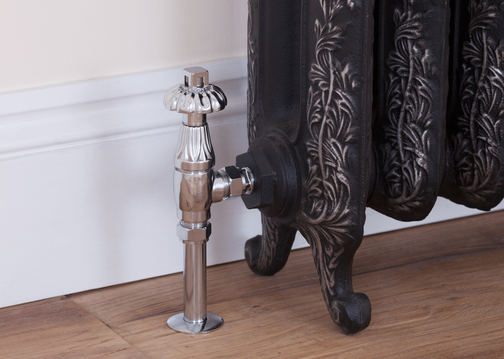 Traditional Radiator valves made by Carron are available
