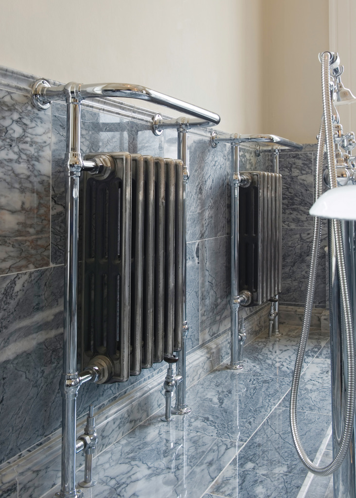 QSS009 Broughton Towel Rails are made by Carron and available for delivery Worldwide by UKAA