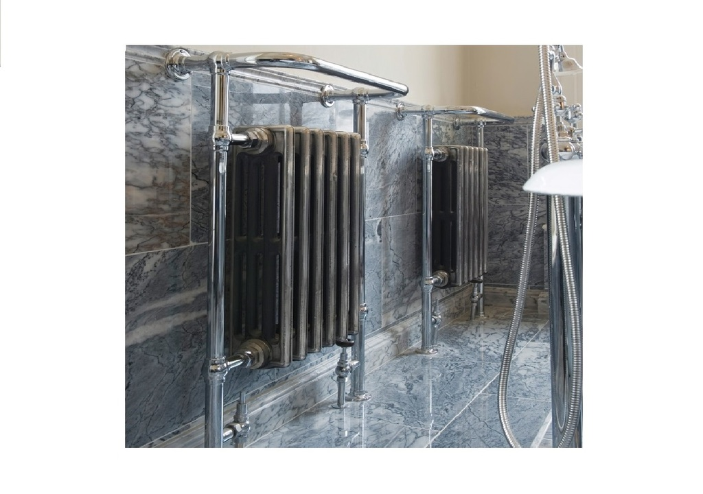 At UKAA we supply the extensive range of Carron towel rails and towel radiators. Some come with an integral radiator which can be painted in the colour of your choice. All are available in high quality chrome, nickel or copper finish. To view the range please visit our UKAA website.