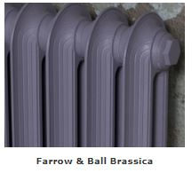 Carron Radiators Painted in a Buttermilk Finish