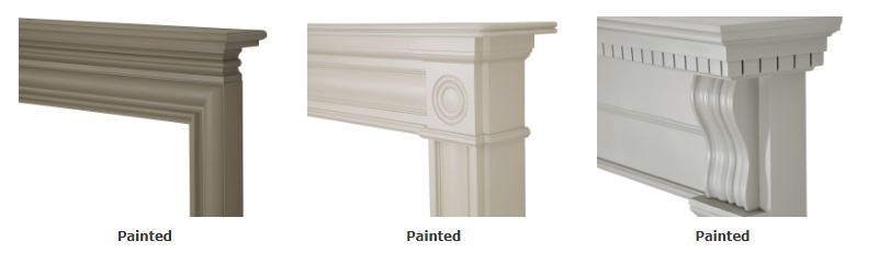 Carron Painted Wooden Fire Surrounds