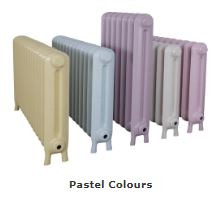 Radiators Made by Carron Can be Painted in a Vellum Finish