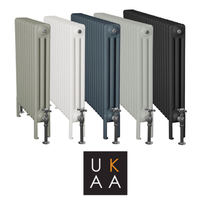 Buy Enderby 3 Column Steel Radiator Made by Carron and Perfect for Modern, Contemporary and Traditional Homes Available at UKAA