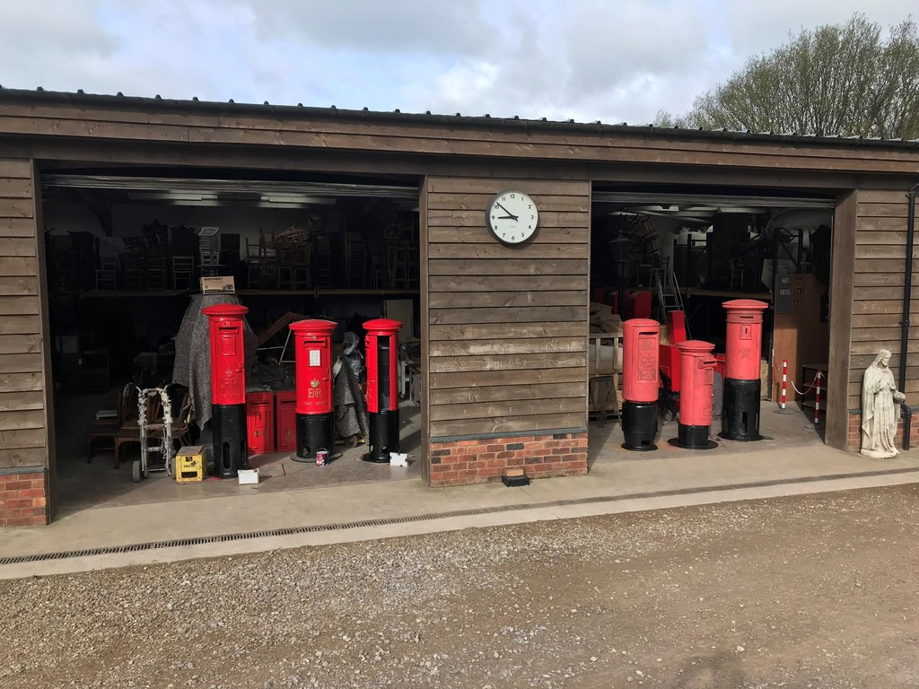 At UKAA we supply fully restored Royal Mail pillar boxes and post boxes worldwide
