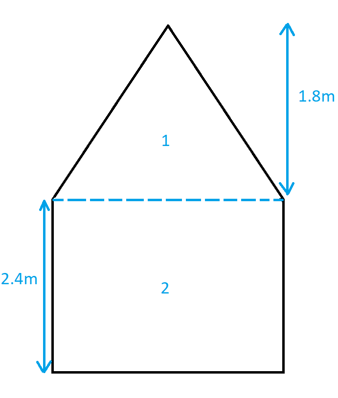 Awkward Shape Room how to Calculate Heat Needed