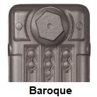 Baroque Finish Carron Radiator