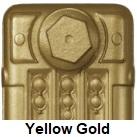 Showcasing radiator paint in Yellow Gold