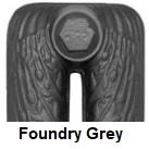 Foundry Grey painted radiator