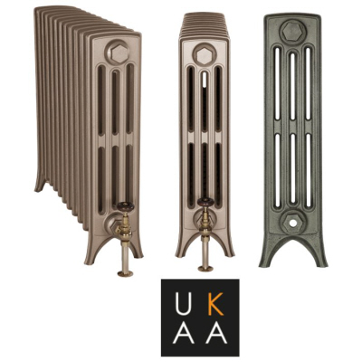 Carron Crane 4 column cast iron radiators available at UKAA. Traditional Carron metal radiators with a contemporary feel for your home.